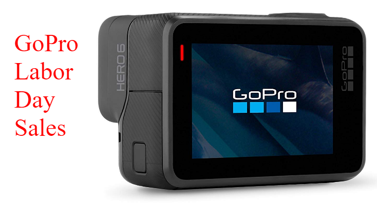 GoPro HERO6 Labor Day Sales