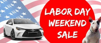 Toyota Labor Day Weekend Sales
